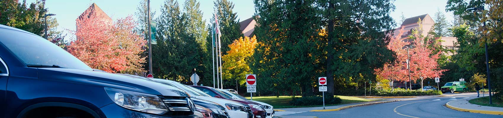 Parking at UFV
