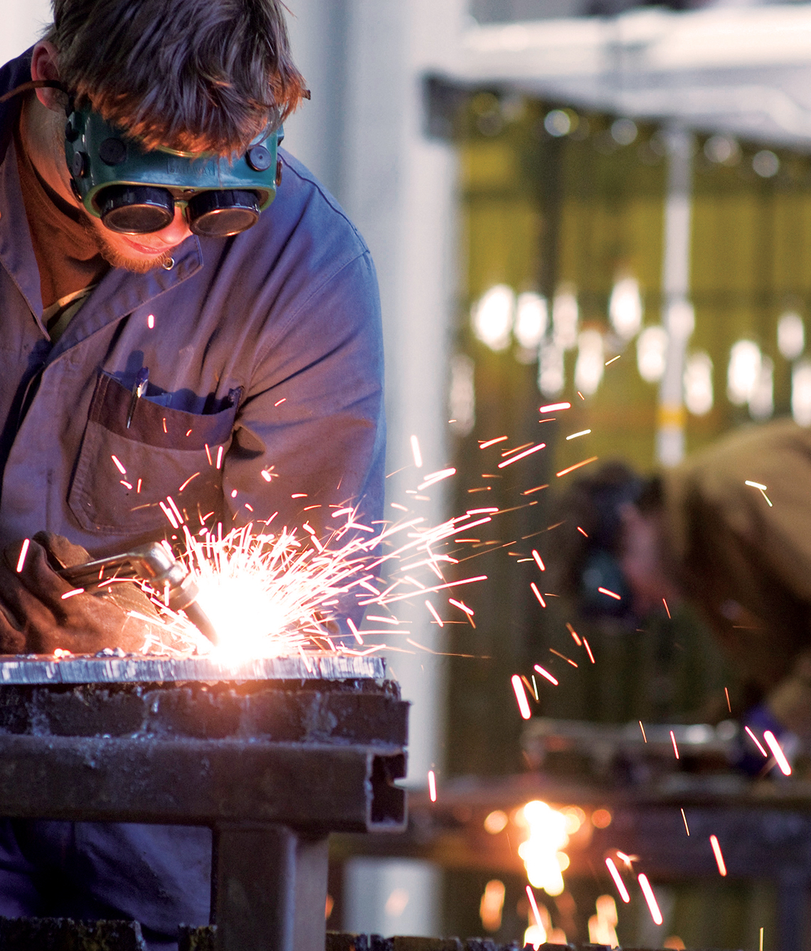 Varied work opportunities exist for trained welders